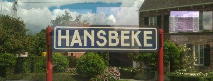 Station Hansbeke is one of Bijna alle treinstations in Vlaanderen.
