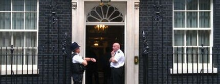 10 Downing Street is one of Hand Drawn Map of London.