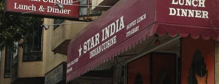 Star India is one of GoPago in San Francisco.