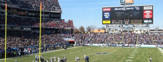 Nissan Stadium is one of Great Sport Locations Across United States.