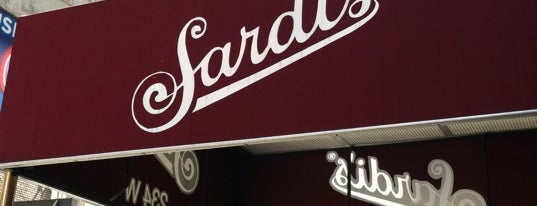 Sardi's is one of My Bucket List Restaurants.