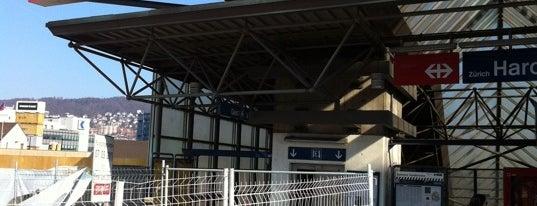 Bahnhof Zürich Hardbrücke is one of Bahnhöfe.