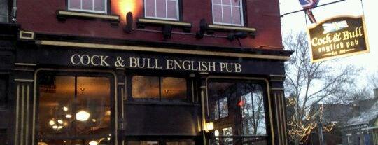 Cock & Bull Public House is one of Cincinnati Beer Geek.