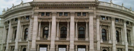 Burgtheater is one of StorefrontSticker #4sqCities: Vienna.