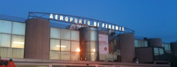 "Aeroporto di Firenze ""Amerigo Vespucci"" (FLR) is one of Italy 2014."