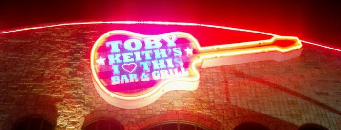 Toby Keith's I Love This Bar and Grill is one of Oklahoma City's Best!  #visitUS.