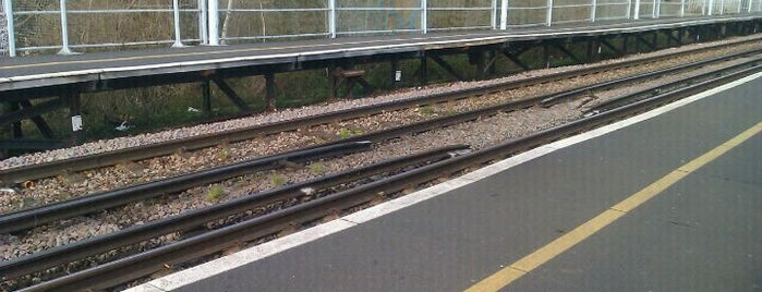 Chestfield & Swalecliffe Railway Station (CSW) is one of Train stations.