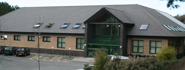 Carwyn James Building is one of Penglais Campus.
