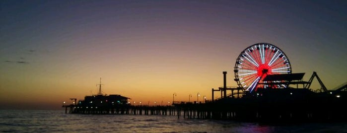 Santa Monica Pier is one of The Great Outdoors in Los Angeles.