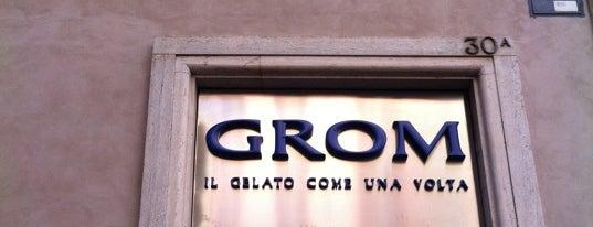 Grom is one of Comer e beber.