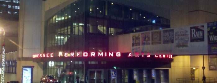 TPAC - Tennessee Performing Arts Center is one of Nash Life.