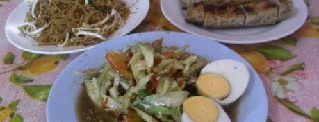 ส้มตำป้านาง is one of ของกินริมถนน อ.เมือง โคราช - Korat Hawker Food.
