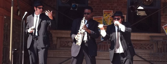The Blues Brothers Show is one of Universal Studios - Orlando, Florida.