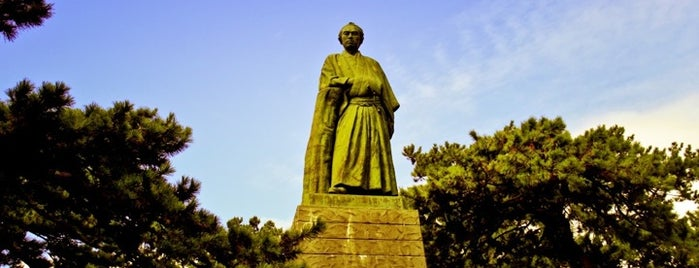 Statue of Sakamoto Ryoma is one of 中世・近世の史跡.