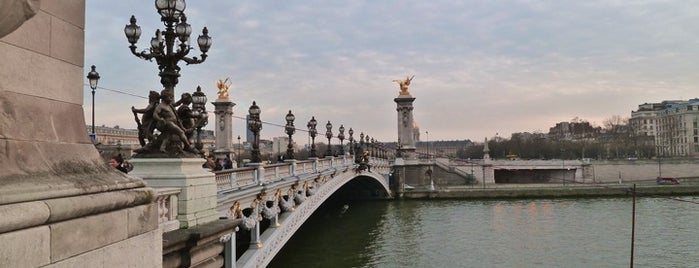 Pont Alexandre III is one of Paris.