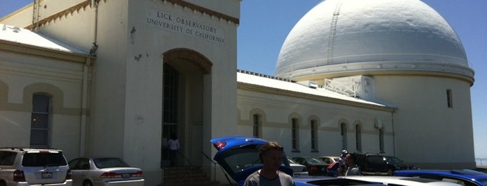 Lick Observatory is one of Nor Cal Destinations.