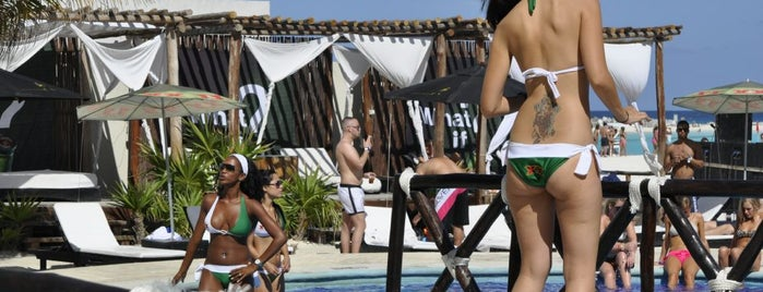 Playa Cabana is one of The Best Spots to Party @ México.