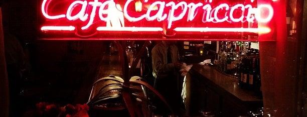 Cafe Capriccio is one of Italian.