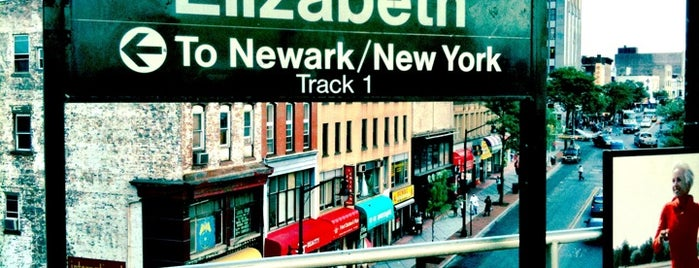 NJT - Elizabeth Station (NEC/NJCL) is one of New Jersey Transit Train Stations I Have Been To.
