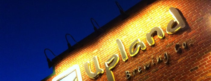 Upland Brewing Company Brew Pub is one of Brewery Bucket List.