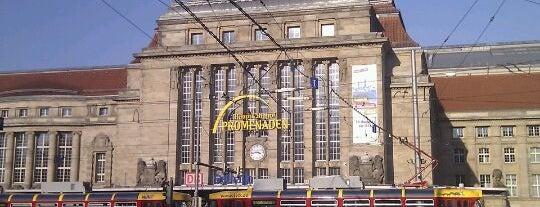 Leipzig Hauptbahnhof is one of Bahnhöfe DB.