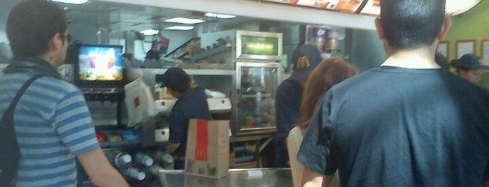McDonald's is one of Gastronomía en Santiago de Chile.