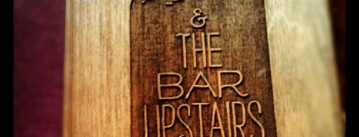 Tiny's and the Bar Upstairs is one of My Definitive NYC Bar List.