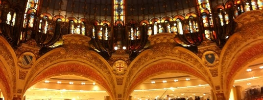 Galeries Lafayette Haussmann is one of Must-See Attractions in Paris.