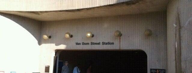 Van Dorn Street Metro Station is one of WMATA Train Stations.