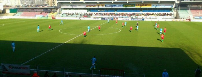 Versluys Arena is one of Jupiler Pro League and Belgacom League - 2013-2014.