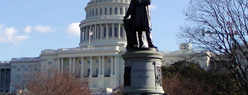 James A. Garfield Monument is one of Explore: Capitol Hill.