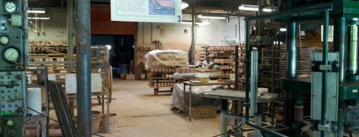 Bennington Potters is one of USA: Retail Adventures.