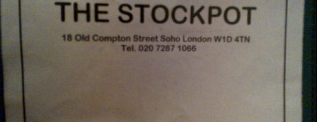 Stockpot is one of STA Travel London Foodie Favorites.