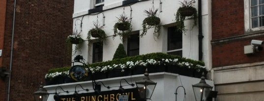 The Punch Bowl is one of Drinking London.