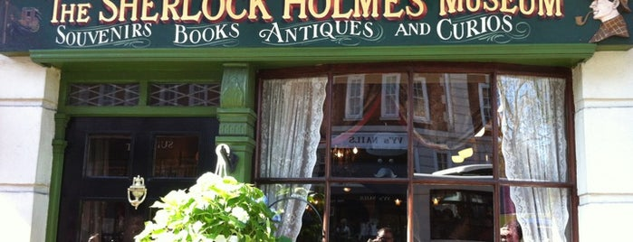 The Sherlock Holmes Museum is one of London Museums and Galleries.