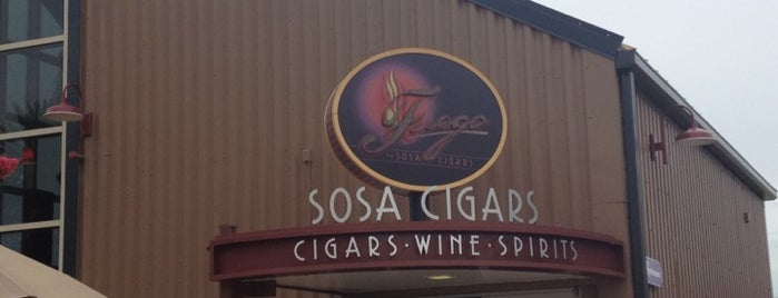 Fuego by Sosa Cigars is one of All-time favorite places.