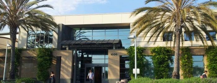 Balboa Branch Library Newport Beach Ca