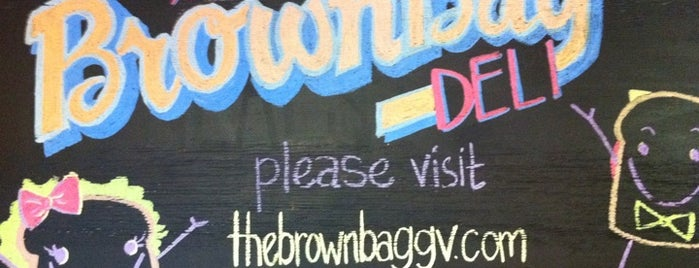 The Brown Bag Deli is one of daTurk - Downtown Lunch (Independents).