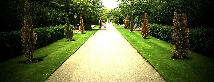 Regent's Park is one of London.