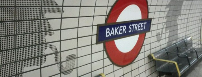 Baker Street London Underground Station is one of Places to Visit in London.