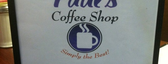 "Paul's Coffee Shop is one of ""Diners, Drive-Ins & Dives"" (Part 1, AL - KS)."