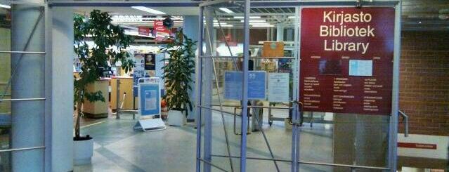 Itäkeskuksen kirjasto is one of HelMet-kirjaston palvelupisteet.