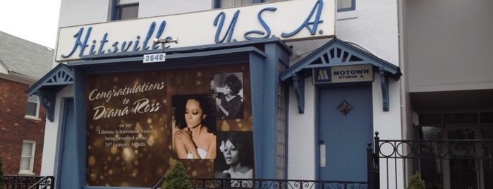 Motown Historical Museum / Hitsville U.S.A. is one of Detroit List #VisitUS.