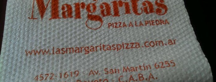 Las Margaritas Pizza Café is one of Restos-Cerca.
