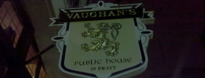 Vaughan's Public House is one of burrs.
