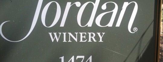 Jordan Vineyard & Winery is one of Gorgeous, Burgeoning Wine Road Gardens.