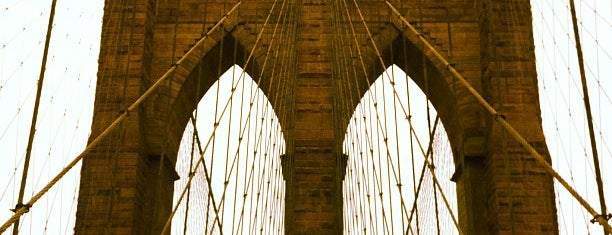 Brooklyn Bridge is one of Best Places to Check out in United States Pt 7.