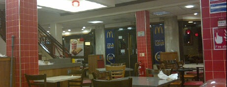 McDonald's is one of Good coffee in and around Leicester.