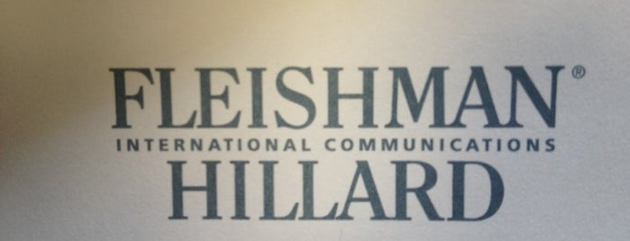 FleishmanHillard is one of PR Firms.