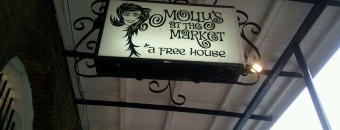 Molly's at the Market is one of What we love about New Orleans.